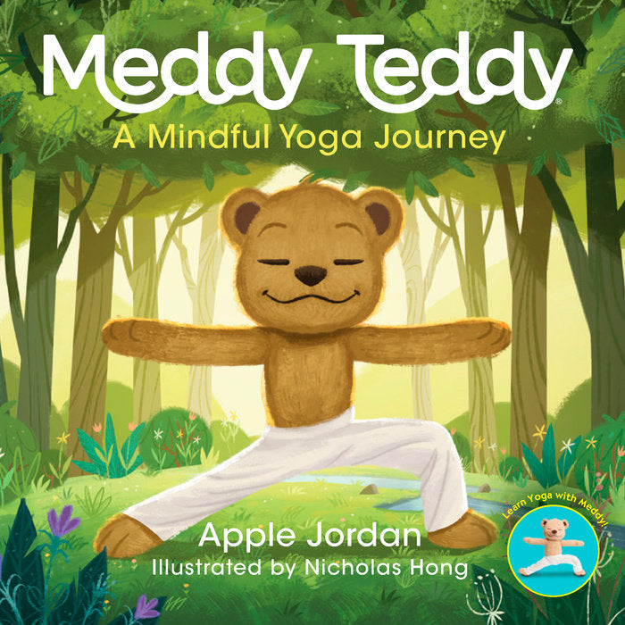 Meddy Teddy - A Mindful Yoga Journey Book