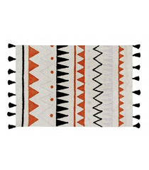 Azteca Natural Washable Rug - Terracota (Special Order Item)