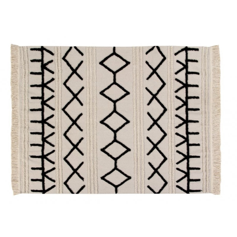 Bereber Canvas Washable Rug - Cream (Special Order Item)