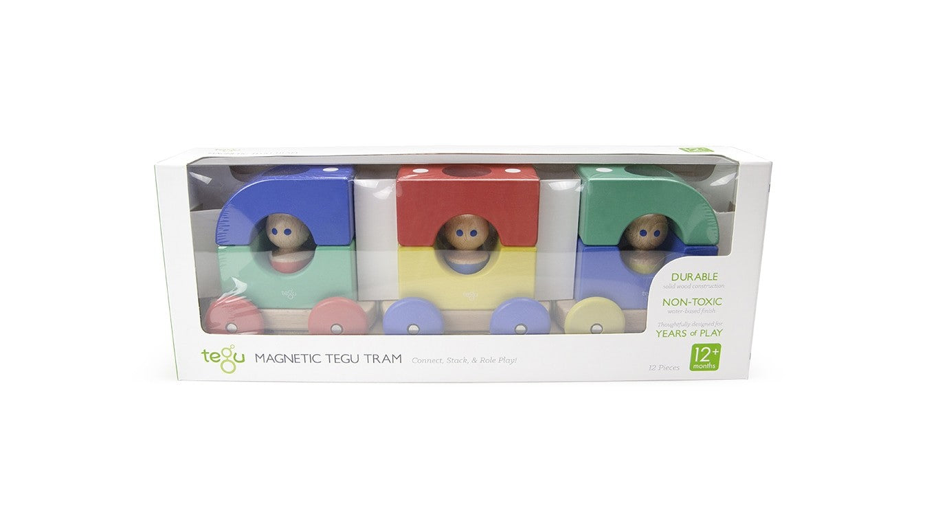 Magnetic Tegu Tram Train - Big Top