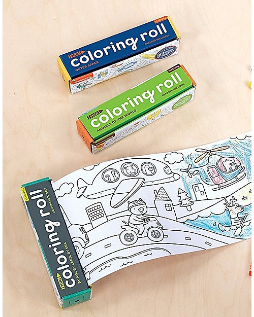 Coloring Roll + Crayons