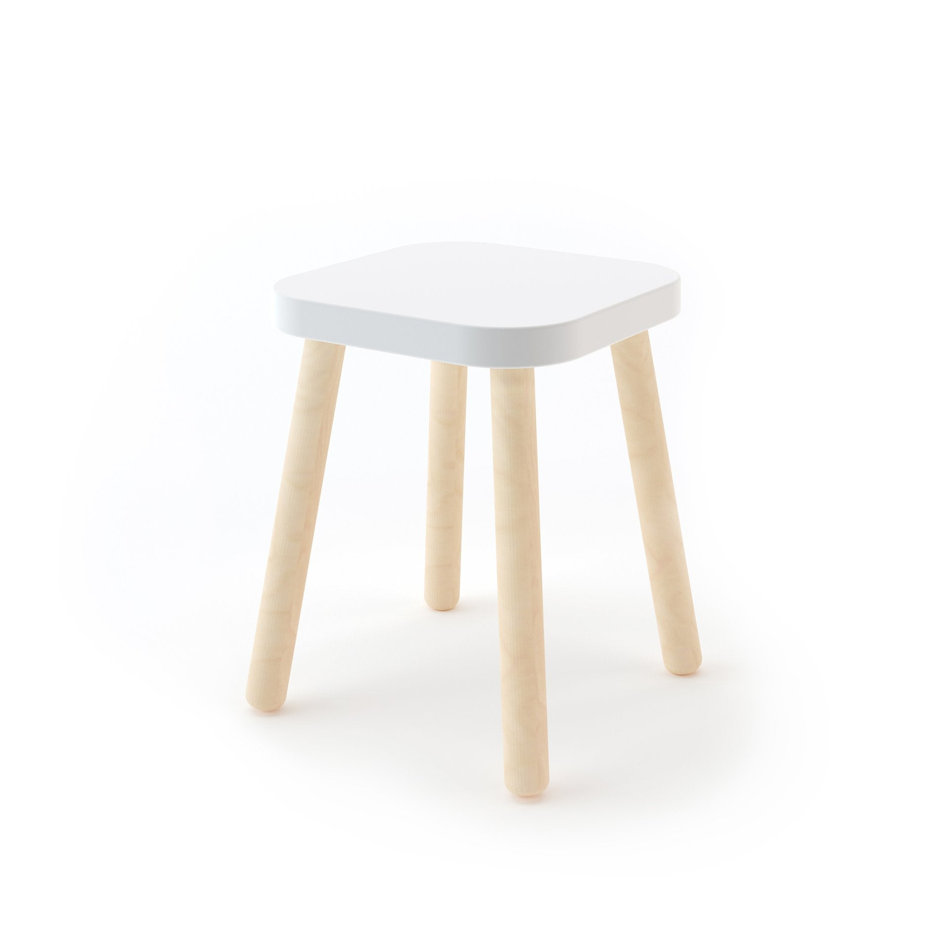 Oeuf Square Stool (Special order item)