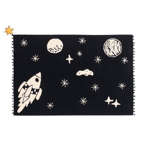 Lorena Canals - The Universe Rug - Black & White