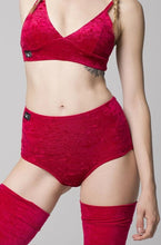 Eve bottom Velvet - Red