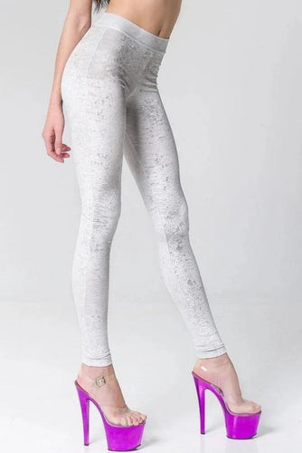 Stardust leggings - Silver