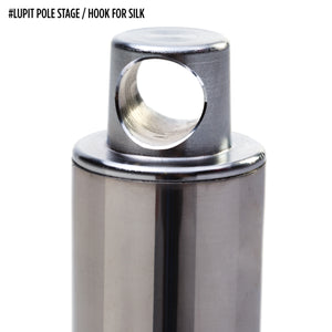 LUPIT STAGE POLE + BAGS, stainless steel, 45mm - Short Legs