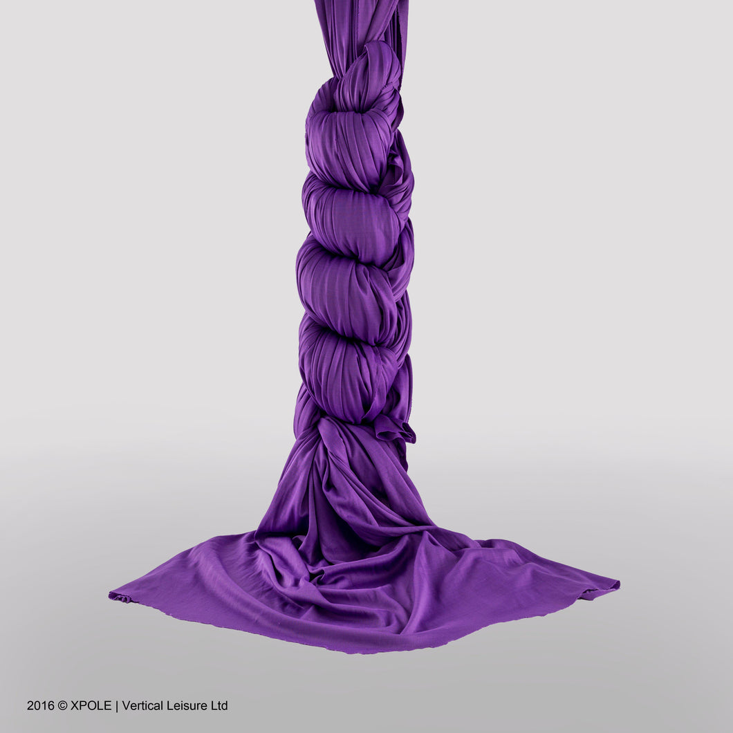 Aerial Silk 5M, Purple - XSK-5M-PUR