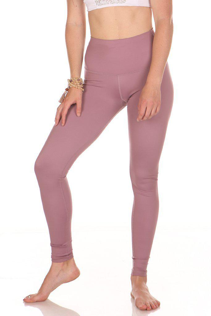 Kaya Leggings High Waisted - Mauve