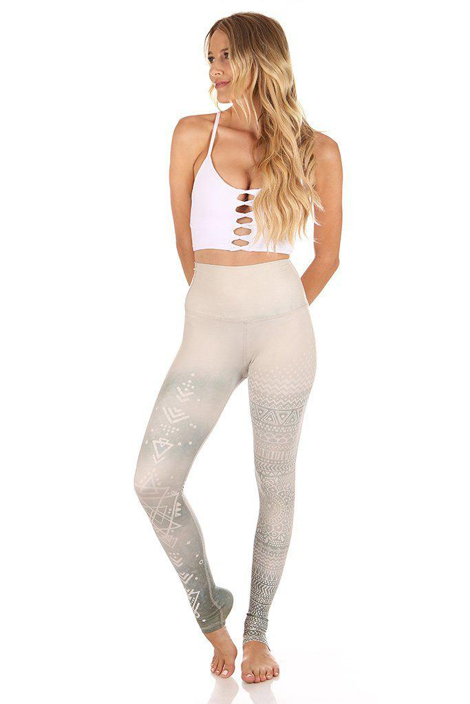 Kaya High Waisted Prints - Mystic Henna