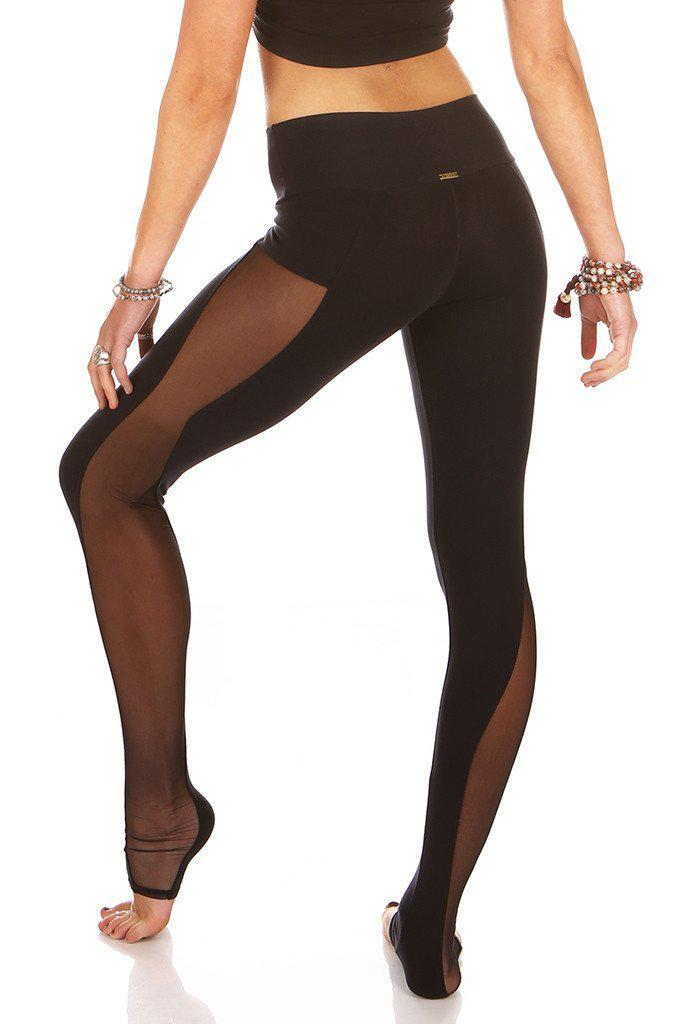 Lucina mesh Leggings - Black