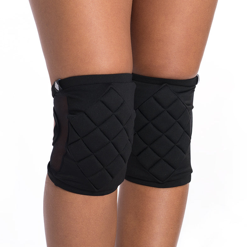 Knee pads with pocket - Black