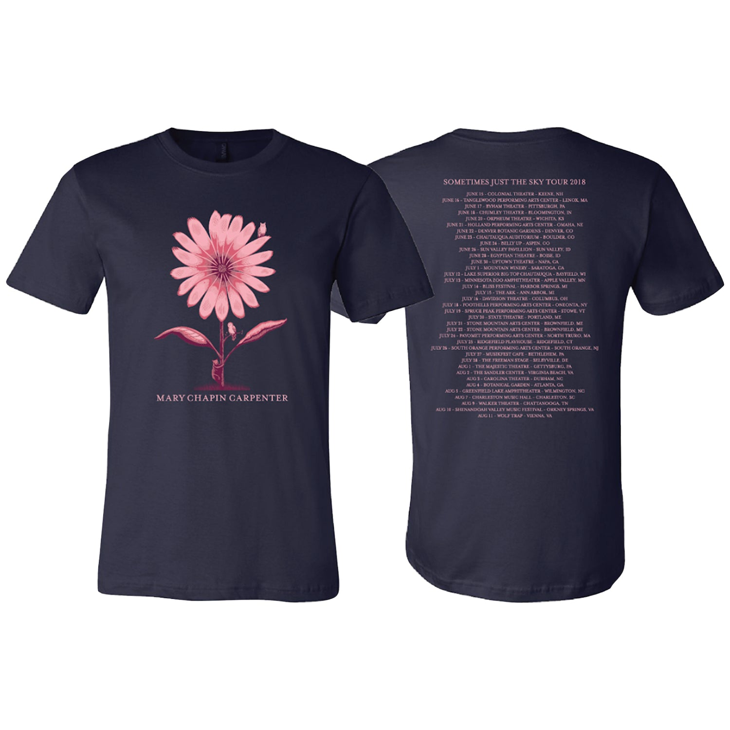 Sometimes Just the Sky 2018 Tour Tee