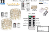 CL-CF-5 Christmas Fairy Lights Battery Operated