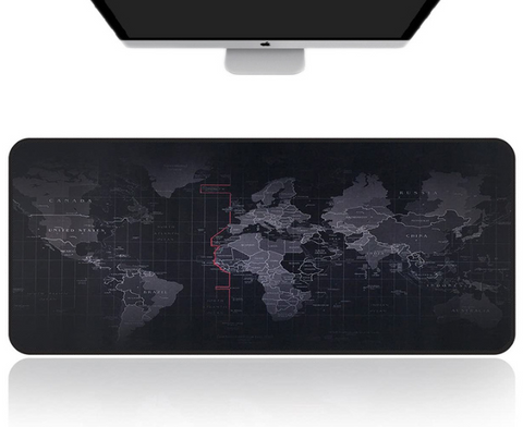 Large Gaming Mouse Map Pad With Nonslip Base