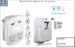 PP-CCf-3 World Travel Adapter Kit by Ceptics
