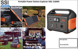 PP-BFCA-8 Portable Power Station Explorer 500, 518Wh