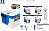 PP-EF-3 Universal Travel Adapter Plug World Power