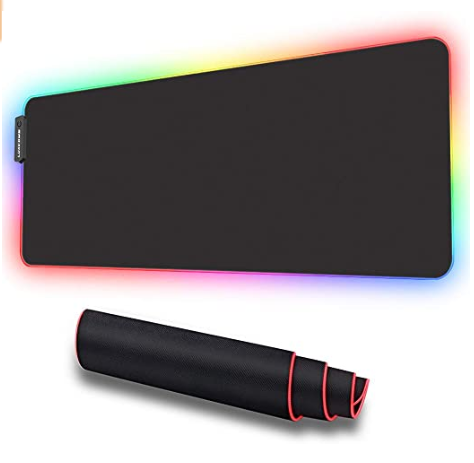 ES-CI-6 RGB Soft Gaming Mouse Pad Large