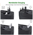 PP-DC-3 Travel Adapter,  Cell Phone Laptop