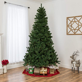 CT-BBAA-10  7.5ft Premium Spruce Hinged Artificial Christmas Tree
