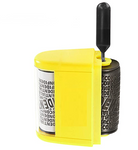 Wide Roller Stamp Identity Theft Stamp 1.5 Inch Perfect for Privacy Protection - Yellow