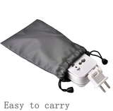 PP-CF-3 USB Power Strip Portable Travel Charger Outlets 2.1AMP 1AMP