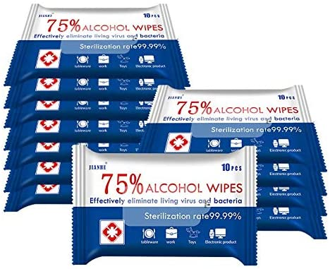 75% Alcohol Cotton Wipes (1 Pack)