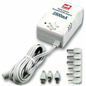 PST-2500MS3 2500mA AC Adapter w/ Adjustable Output