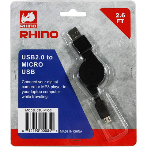 CBU-MIC-S 2_USB to 5-Pin Mini-B cable