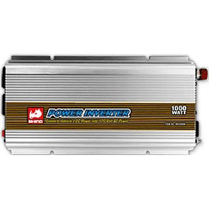 RN1000W Rhino 1000-Watt Power Inverter. 12-Volts DC in 110-Volts AC Output
