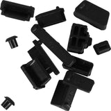 RA-004 Raidmax 13 Piece Dust Plugs for Laptop or Computer Back I/O Panel