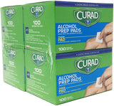 Alcohol Prep Pads, Thick Alcohol Swabs (Pack of 400)