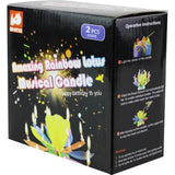 AS-76 Amazing Rainbow Lotus Musical Candle