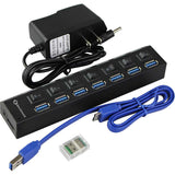 RA-025 USB3.0*7W/LED swtich