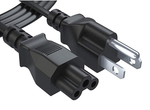 Extension Cord Power Cable - 20 feet - US - Black