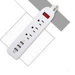 PP-BEJd-3 Power Strip Surge Protector 3 AC Outlets