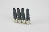 Solderless Coaxial Cable Plastic Tail BNC Male Plug