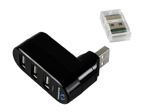 3 PORT USB2.0 EXPANSION ADAPTER