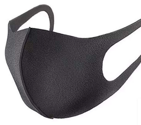 Reusable Anti Dust Mouth Mask (Black)