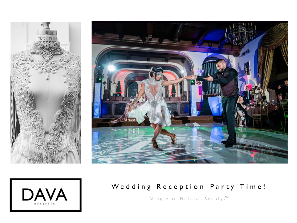 Weddings & Receptions - Let DAVA Mongolia create what you envision.