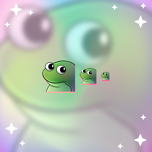 Concerned Frog - Pre-Made Twitch Emote Digital Download