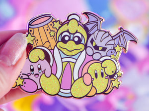 Kirby & King Dedede & Friends - Large Sized Enamel Pin