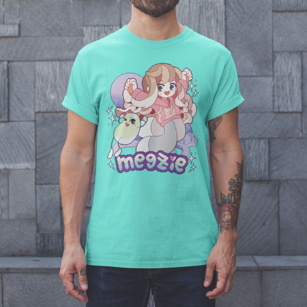 """MEGZIE AND BEAN"" UNISEX GRAPHIC TEE"