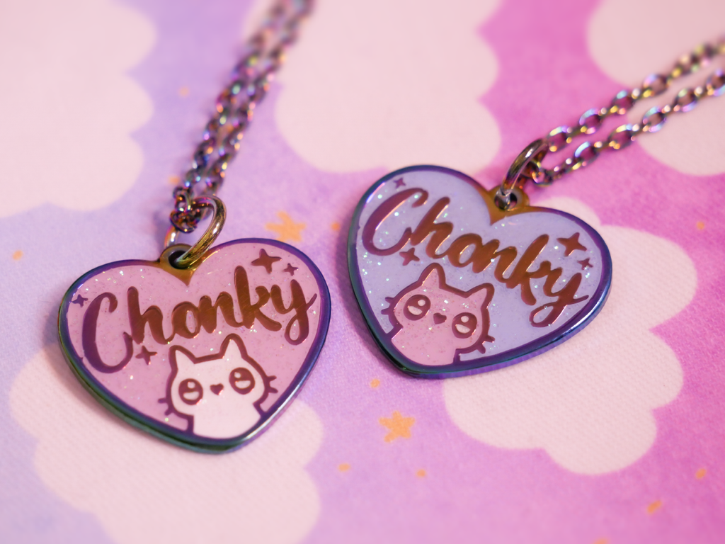 Chonky Necklace - Pink Version
