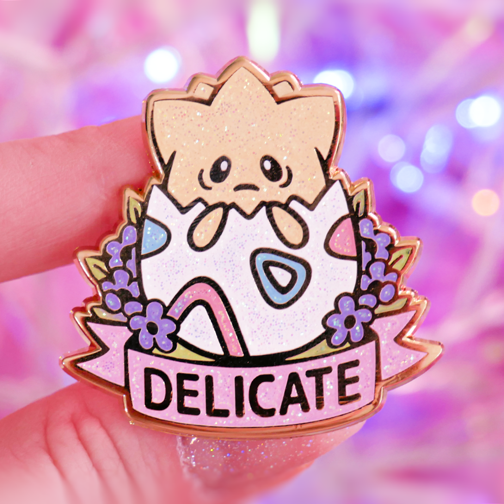 Delicate Togepi Lapel Pin