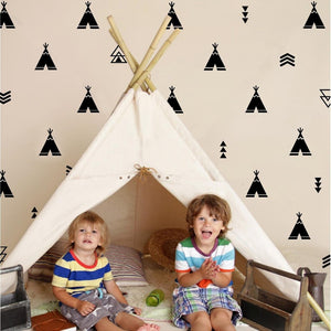 Teepee + Arrows  - Nursery Wall Decals