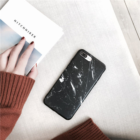 iPhone 6, 6S, 7, 7 Plus Marble Case