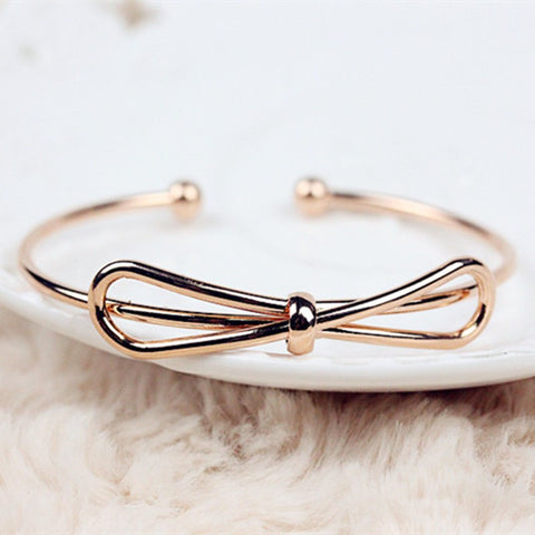 Bow-knot Bangle Bracelet