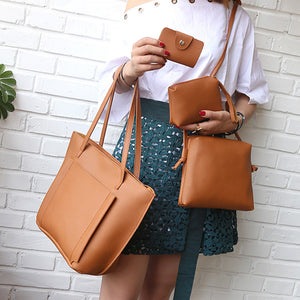 Minimalist Handbag (4 pc Set)