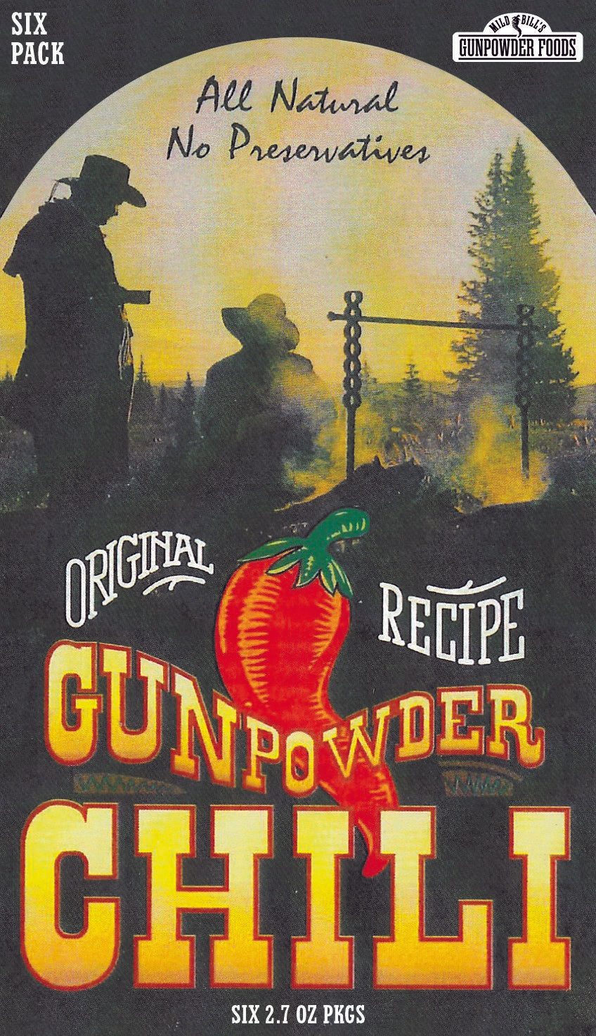 Gunpowder Chili Six Pack